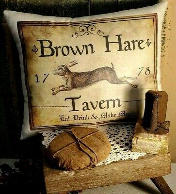 PRIMITIVE VICTORIAN VINTAGE FOLK ART STYLE MORNING CUP COFFEE CAFE SIGN CANVAS