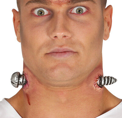 Halloween Prothetisch Dick durch Hals Kopf Kostüm Wunde Narbe mit - Dick Kopf Kostüm