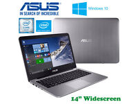 Could Deliver - ULTRA FAST Aluminum ASUS Laptop - QuadCore - SSD - Win10 - Intel HD