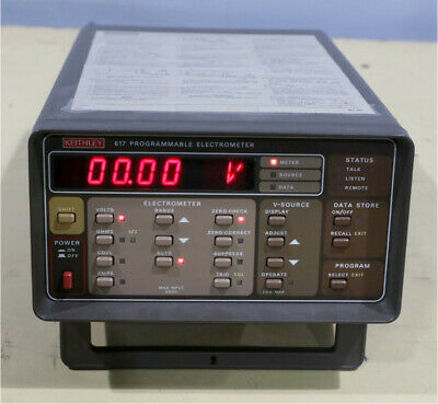 Keithley 617 Programmable Electro Meter B1
