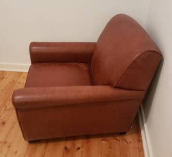 Moran Cuban leather Lounge / Sofa