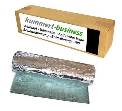 2m² Dämmmatte ALUBUTYL Anti-Dröhn Bitumen-Ersatz Matte 50 x 400 cm Auto Tür