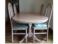 Table and 4 chairs . V.GOOD CONDITION