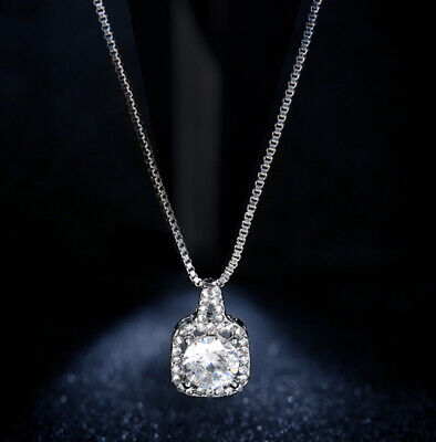 Girls Multi-layer Choker Chain Pendant Crystal Cubic Zirconia Clavicle Necklace  ()