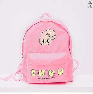 EstherLovesYou X Chuu Esther Kim Women Girls Pink Bunny Back Pack Book Bag