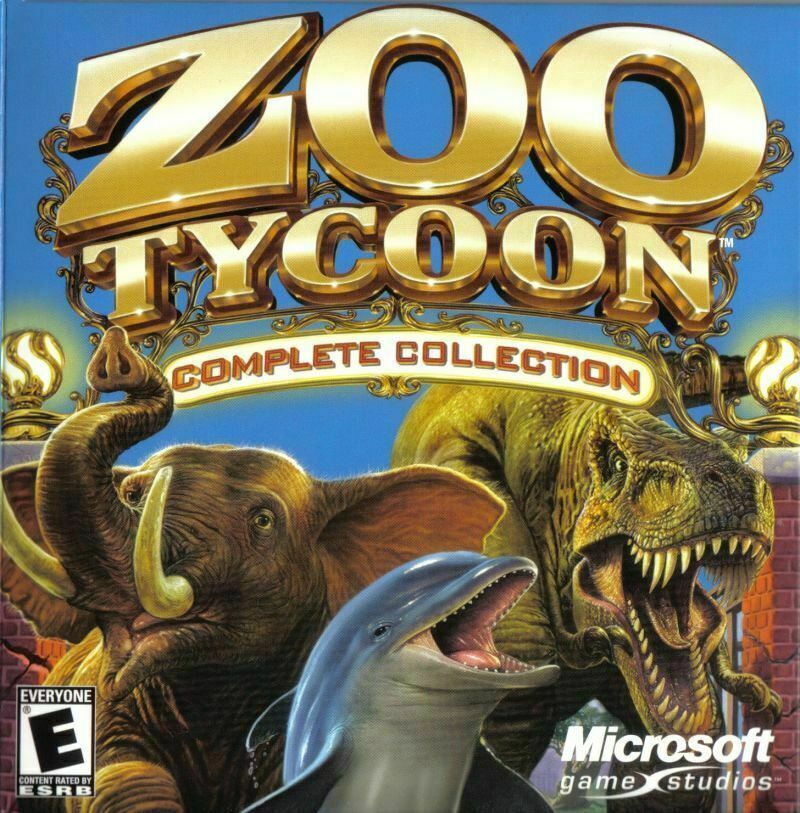 Computer Games - Zoo Tycoon: Complete Collection PC Computer Game by Microsoft