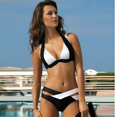 Sexy Women Swimwear Bikini Push-up Bra Holiday Beach Swimsuit Bathing Suit