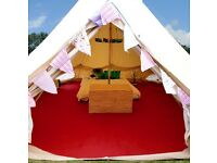 Glamping Bell Tent Hire (collect from Wolverhampton M54 jct 2 )