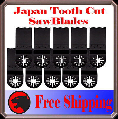 10 Japan Tooth Cut Oscillating MultiTool Saw ...