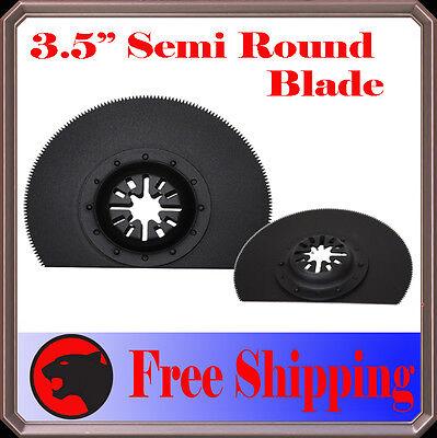 3 Semi Round Cut Oscillating Multi Tool Saw Blade For Ridgid Milwaukee Genesis