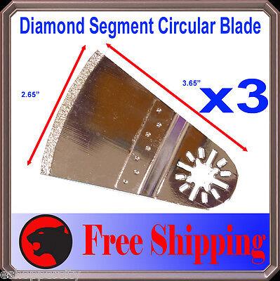 Diamond Oscillating Multi Tool Blade Disc Ridgid Jobmax Genesis Craftsman Ryobi