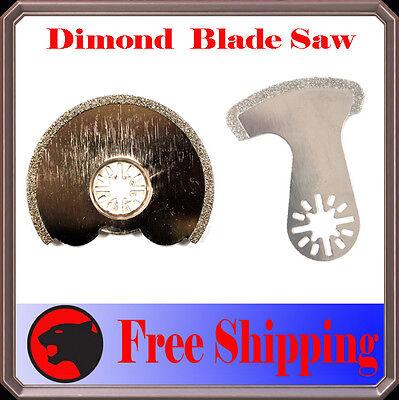 Diamond Edge Oscillating Multitool Blade Disc For Bosch Multi-x Fein Multimaster