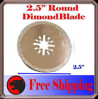 Diamond Round Cut Oscillating Multi Tool Blade Disc For Fein Bosch Chicago