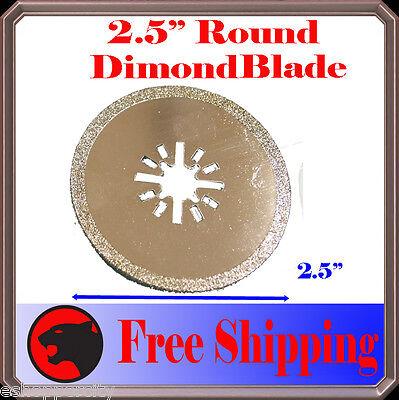 Diamond Round Cut Oscillating Multi Tool Blade Disc For Fein Bosch Chicago
