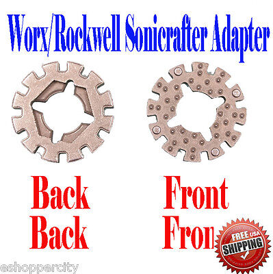 For Worx Rockwell Sonicrafter Arbor Adapter Oscillating Multi Tool Blade Fit