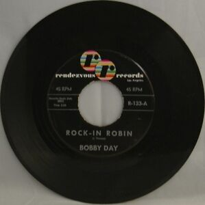 Bobby-Day-Rock-in-Robin-b-w-Over-and-Over-store-stock