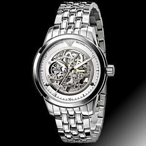 NEW Emporio Armani Meccanico Automatic Mens Luxury Watch AR4626