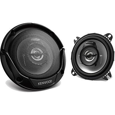 Kenwood 4 Inch 210 Watts Round 2-Way Flush Mount Car Stereo Speakers | KFC-1065S