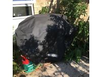 large gas barbecue with Calor gas bottle. John Lewis make.