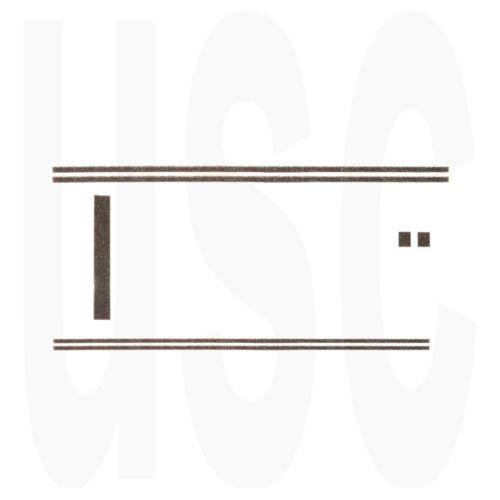 Mamiya 1000 500 DTL TL Custom Light Seal Kit   USCamera Premium Foam Seals