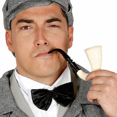Kostüm Röhrenartig Sherlock Style Opa Rauchen Witz Halloween - Detektiv Kostüm Halloween