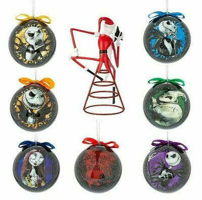 Disney Tim burtons Nightmare Before Christmas ORNAMENTs/TREE TOPPER-New SEALED