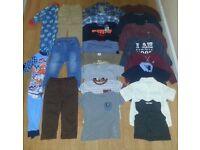 Boys Clothing Bundle Age 2-3 Some Brand New - Next - Disney ETC