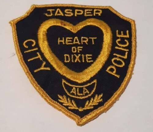 Jasper City Alabama AL US Police Patch Vintage