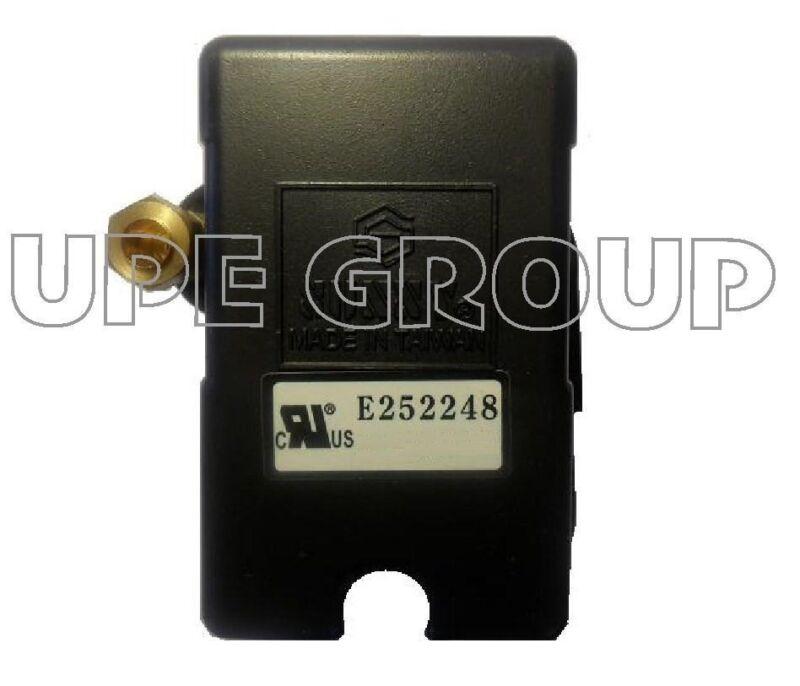 25 AMP H/D pressure switch for campbell hausfeld dewalt emglo 95-125 1 port