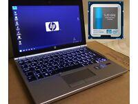 "Hi End 11.6"" EliteBook i7 VPro 3.2GHz 8GB RAM 320GB fast SCSI drive"