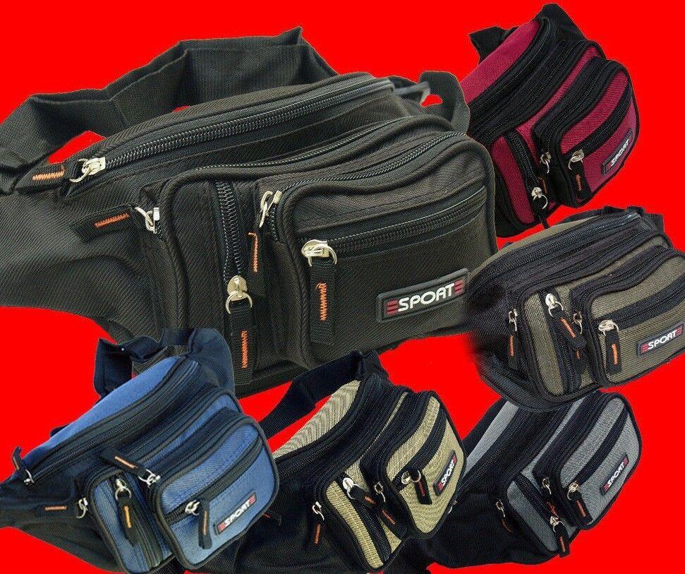 New Fanny Pack Men Women Waist Tract Bag Purse Hip Pouch Travel Sport Bum