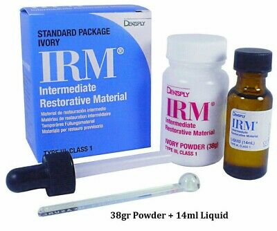 Irm Intermediate Restorative Powder Liquid Kit Ivory By Dentsply Fresh