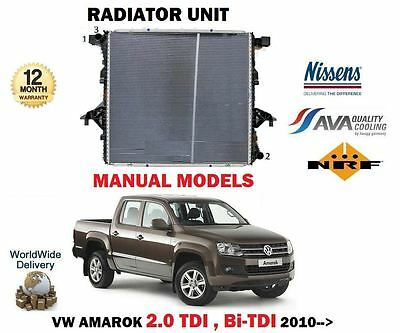 Para VW Amarok 2.0 Tdi + Bi 2010- > Nuevo Radiador de Refrigeración Unidad comprar usado  Enviando para Brazil