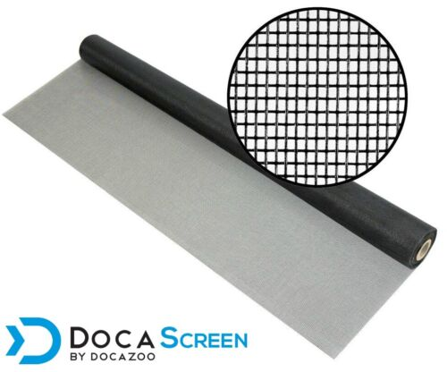 "DocaScreen Fiberglass Window Porch and Patio – 96"" x 50' Mesh Screen Roll"
