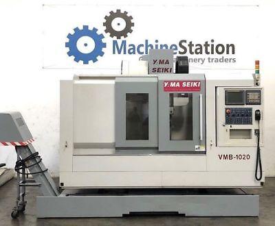 Yama Seiki Vmb-1020 Vertical Machining Center 40x24 -cnc Mill Vmc Mori Haas Vf3