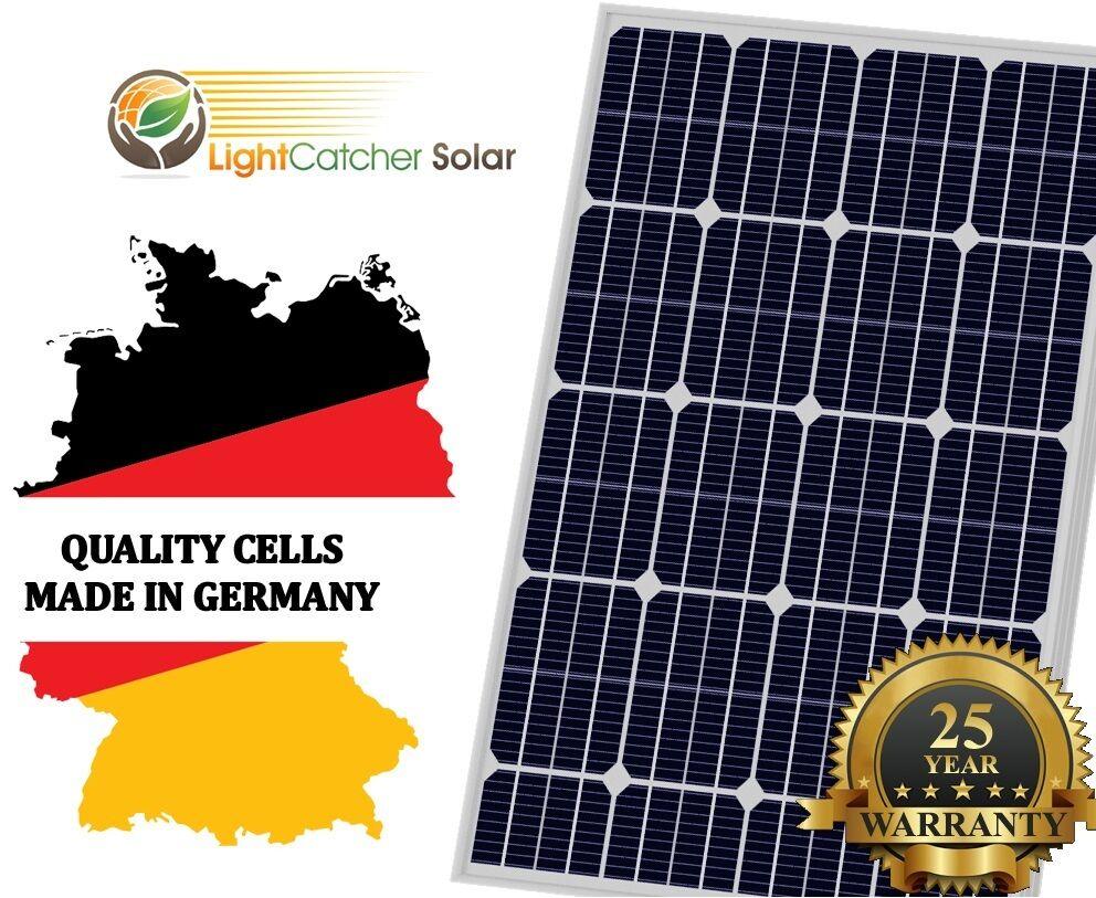 100W Watt Solar Panel Mono 12V Volt for Off Grid RV Boat Bat