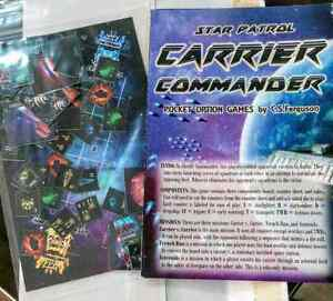 Star Patrol Carrier Command mini boardgame Kardinya Melville Area Preview