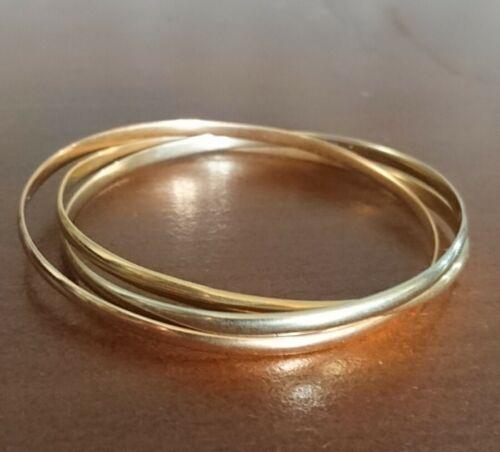 Bracelet trinity 3 ors 18k cartier  paris petite taille - 3 golds small size