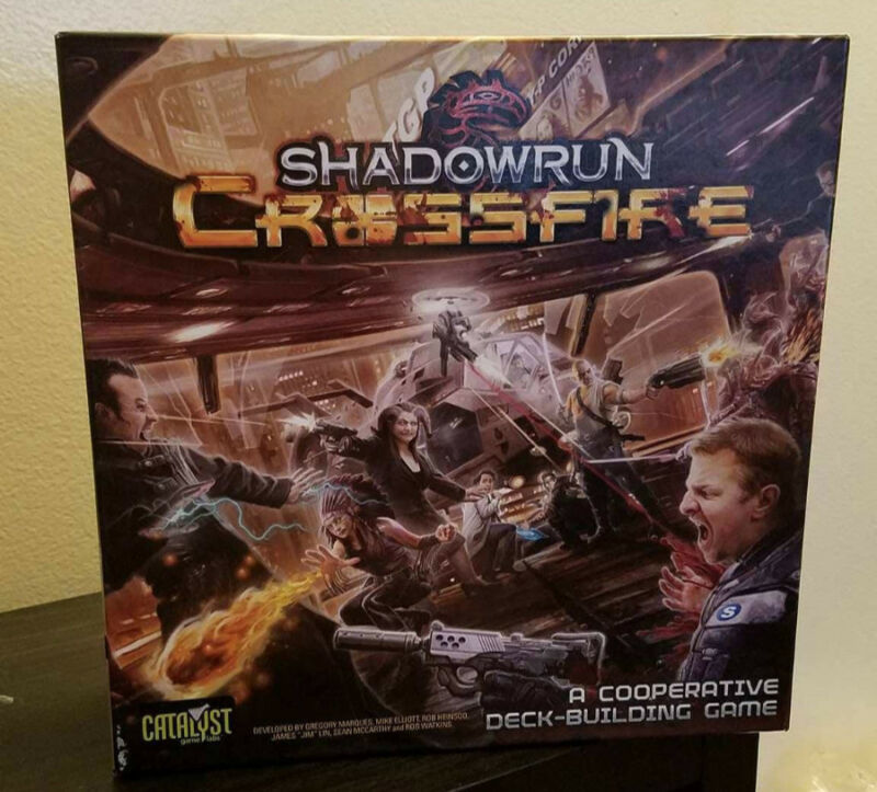 Shadowrun: Crossfire Boardgame OOP - Used Played Catalyst Games - $9.99 Shipping