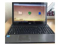 Acer aspire i3 laptop for sale