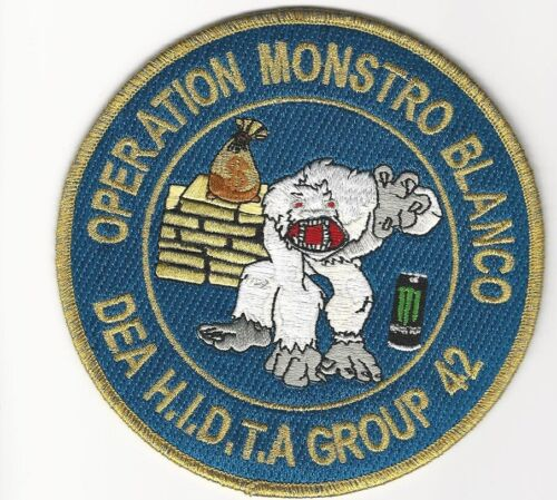 DEA Operation Monstro Blaco White Monster Police Sheriff State Florida FL HiDTA