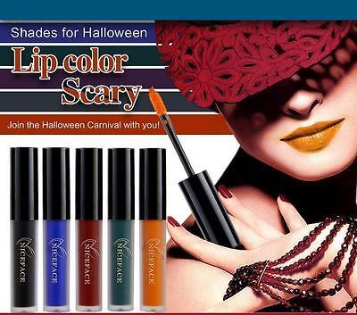 HOT!! Halloween Makeup Liquid Matte Lasting Waterproof Lipstick Pencil Lip Gloss - Hot Halloween Makeup