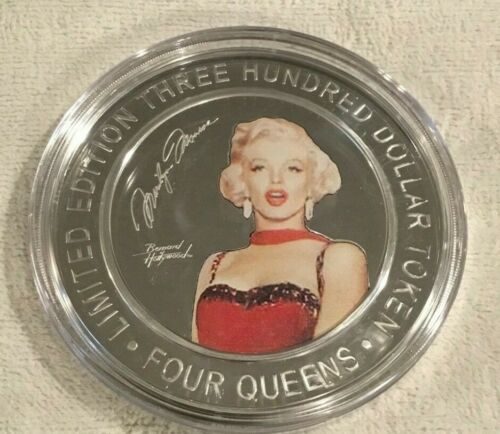 MARILYN MONROE $300 2019 FOUR QUEENS Silver Strike .999 Fine Silver
