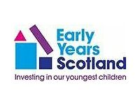 Early Years Practitioner: supporting children 0-5 & families in shared play and learning sessions