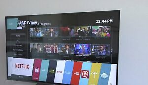 LG 55 inch full HD smart tv only used 3 days