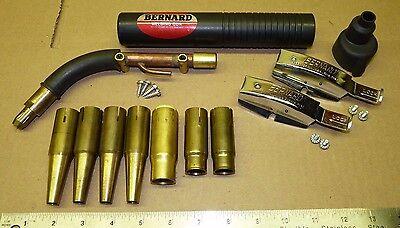 Bernard Model C Older Style Mig Welding Gun Replacement Parts