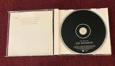 THE BEST OF JOY DIVISION ~ 2008 US CD  PROMO (The Best Of Joy Division)