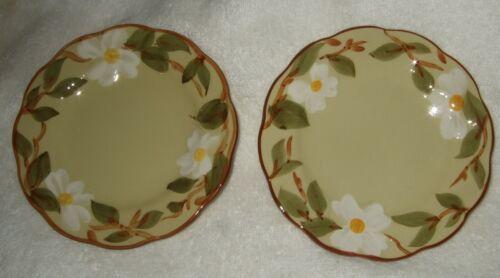Stangl White Dogwood Plates