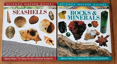 ROCKS & MINERALS + SEASHELLS Homeschool Easy Science Projects and Guides