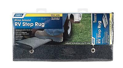 RV Motorhome Wrap Around Step Rug Ladder Cover Mat Carpet Travel Trailer Camper